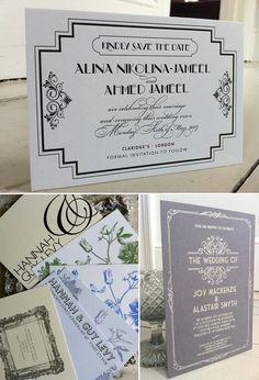 Save 10% On Bespoke, Letterpress, Luxury Wedding Stationery with http://www.emilyandjo.co.uk/