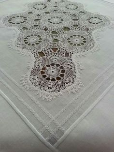 Neşe 'nin gözdeleri Needle Lace, Knots, Diy And Crafts, Embroidery, Sewing, Pattern, Linens, Decor, Lace