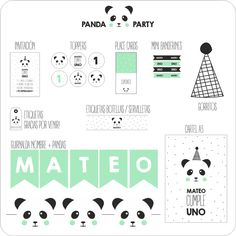 Image of PANDA PARTY