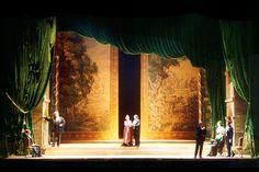 Capriccio. Teatro Lirico. Scenic design by Margherita Palli. 2003
