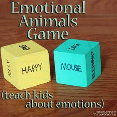 SweeterThanSweets: Emotional Animals Game: Teach Kids about Emotions