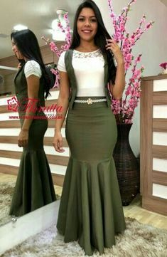 African Print Fashion, African Fashion Dresses, African Dress, Modest Casual Outfits, Modest Fashion, Fashion Outfits, Jw Fashion, Modest Wear, Maxi Skirt Outfits