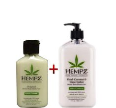 Hempz Herbal Body Moisturizer Fresh Coconut  Watermelon 17oz And Original Herbal Body Moisturizer 2 oz ** This is an Amazon Affiliate link. Want to know more, click on the image.