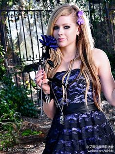 Avril Lavigne... def wanted to be her when i was younger!... still kinda want to be more like her haha