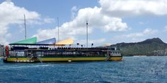Waikiki Ocean Club - This unique attraction is sure to be a blast for everyone. A ship-slash-party boat that floats just offshore out in the Pacific Ocean, this water-borne venue enables guests to swim, dive, snorkel, and sunbathe with ease.