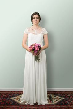 Beautiful Wedding Dresses and more lovingly designed and created in the heart of Wellington New Zealand by our small and experienced team at Sophie Voon Bridal. Simple Gowns, Dress Picture, Bridesmaid Dresses, Wedding Dresses, Lace Bodice, Silk Crepe, Separates, Bridal, Pretty