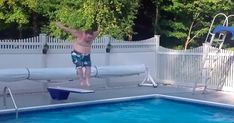 Have Fun This Summer, But Please Try To Avoid These Diving Board Fails