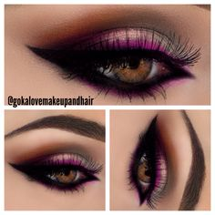 Makeup for sangeet, wedding, reception. Indian wedding, pink, grey, black eyeshadow, eye makeup, Pakistani wedding