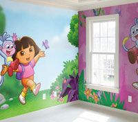 1000 images about for my kids on pinterest dora the for Dora the explorer bedroom ideas