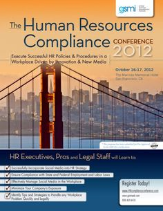 Dovetail Software joined hundreds of HR professionals last week in San Francisco for the 2012 HR Compliance Conference. Our own HR process design and social media expert Dwane Lay addressed the audience with tips on how to leverage existing social media and HR tools to identify gaps in company culture and address them.    #HR #Compliance #HRtech #DwaneLay