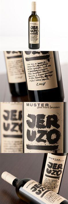 Label / JERUZO // Packaging: By www.strobl-kriegner.com