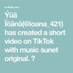 Ýüä Ïöänä(@ioana_421) has created a short video on TikTok with music sunet original. 🙊 The Originals, Musica