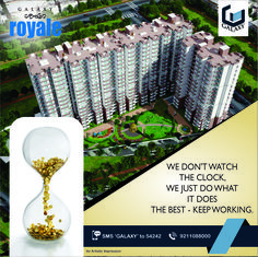 We Want Our Customers To Experience Absolute Peace, While We Build Their Homes. #TheGalaxyGroup #GalaxyRoyale #TimelyDelivery #PeacefullLife #Residential