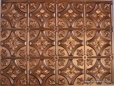 #BP10 Faux Tin PVC Panel - Aged Copper - Talissa Signature Collection - Talissa Decor | High Quality Ceiling Tiles and Wall Panels | Talissa Decor