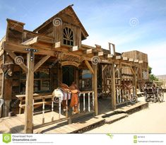 western days storefronts | Old western town in pioneertown, california.