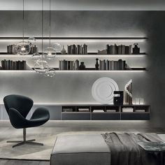 Shop the Self Wall Unit and more contemporary furniture designs by Rimadesio at Haute Living