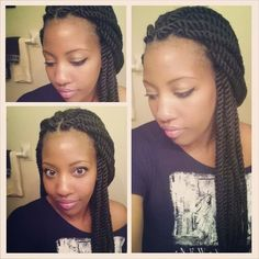 Havana twists by @braidsbyguvia - http://www.blackhairinformation.com/community/hairstyle-gallery/braids-twists/havana-twists-braidsbyguvia/ #twists #havanatwists #jumbotwists