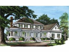 Farmhouse House Plan with 3359 Square Feet and 4 Bedrooms(s) from Dream Home Source | House Plan Code DHSW50377