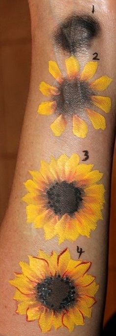 Body Art Back Painting Inspiration awesome ideas - Art Painting Leg Painting, Face Painting Flowers, Body Painting Girls, Body Paint Art, Painting Flowers Tutorial, Drawing Flowers, Painting Canvas, Skin Paint, Leg Art