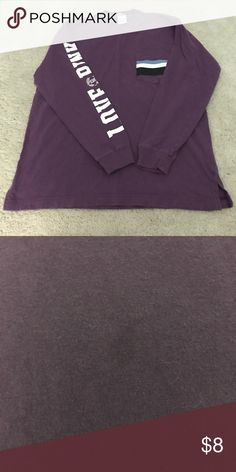 PINK campus crew small A few minor stains that are barely noticeable PINK Victoria's Secret Tops Tees - Long Sleeve