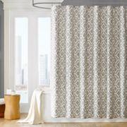 Madison Park Ella Fabric Shower Curtain