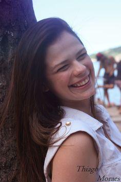 Barbara Costa Dias na Praia da Urca.