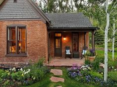 Image Result For Red Orange Brick With Charcoal Mansard Roof And Trim