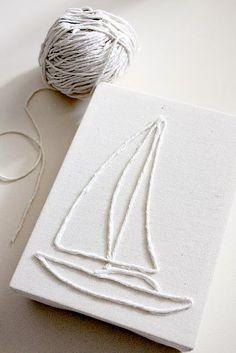 String art canvas