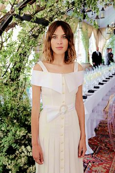 Alexa Chung attends as Piaget celebrates the new Possession collection on 14th May, 2015 at The NoMad Hotel in New York City.