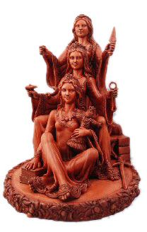 Brighid - Celtic Triple Goddess - pagan wiccan witchcraft magick ritual supplies