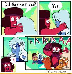 Jasper,SU Персонажи,Steven universe,фэндомы,Ruby (SU),Sapphire (SU),Steven (SU),SU comics,FrostyKat