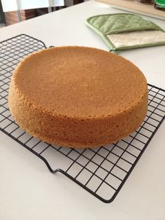 Bake cake for about 40-45 min (or 20-25 min for cupcakes), until golden brown and a toothpick inserted in center comes out clean. Cool on rack and top with icing or berries and confectioners' sugar!