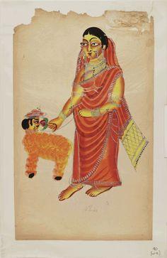 Image: [Kalighat paintings - separate sheets]