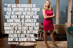 Sara Blakely Entrepreneur Picture Quote For Success