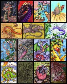 Dragons, Dragons, Dragons  March 2009