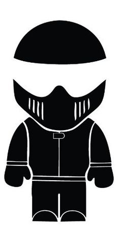 "Baby Stig : 5.9x3.2"" (15x8,2cm) Decal, die cut sticker, jdm drift racing rally top gear stig:Amazon:Automotive"