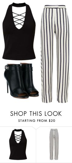 """""""Crystal Keffler STS"""" by sabbtenn on Polyvore featuring Miss Selfridge, Nicholas and Givenchy"""