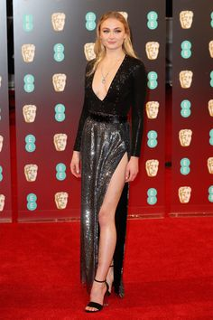Sophie Turner in Louis Vuitton at the 2017 BAFTA Awards