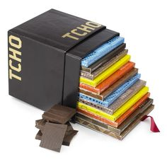 Twelve exceptional chocolate bars