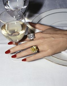 Parker and I are having a lovely evening out. It is my birthday, sweet of Parker to bring me here. I wore my favorite rings that he also has given me every year. I wonder what (not that I need anything) he will give me this year.................