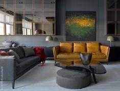 Крутая квартира в Москве | Пуфик - блог о дизайне интерьера