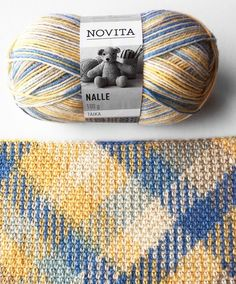 """Opi """"Color pooling"""" -tekniikka! Plaid Crochet, Crochet Motif, Free Crochet, Knit Crochet, Opi Colors, Yarn Colors, Knitting Projects, Knitting Patterns, Crochet Patterns"""