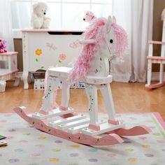 Have to have it. Teamson Design Princess & Frog Rocking Horse - $136 @hayneedle.com