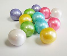 Gourmet Gumballs are a simple yet fun way to top the icing on your cupcake! Great for cakes, too!