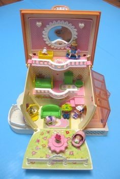 The Charmkins Jewelry House made by Hasbro in the 1980's.