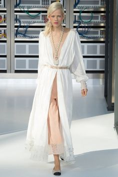 View the complete Chanel Spring 2017 collection from Paris Fashion Week.