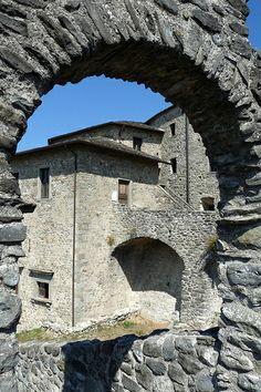 Castello del Piagnaro, Pontremoli, Lunigiana, Toscana, Italia