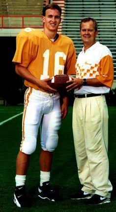 Peyton Manning in college