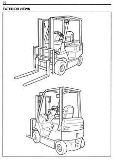 Toyota Electric Forklift Truck 7FBEHU18, 7FBEU15, 7FBEU18