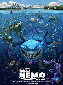 """Pixar's Finding Nemo was first released on May and surpassed The Lion King as the highest-grossing animated film of the time. """"Andrew Stanton pitched his idea and story to Pixar head John. Finding Nemo Cast, Finding Nemo Poster, Finding Nemo Movie, Film Pixar, Pixar Movies, Disney Films, Walt Disney, Disney Usa, Comedy Movies"""
